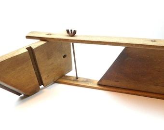 Vintage Wood Cabbage Slicer
