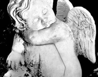 Cherub Print, Cherub Statue Prints, Cherub Art, Angel Statue Print, Cherub Photos, Angel Prints, Angel Wall Art, Angel Prints, Angel Photos