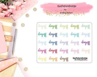 DAY OFF planner sticker