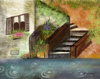 My House And a Rainy Day