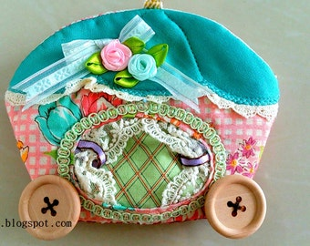 Beginner level | Easy to sew | Digital PDF Sewing Pattern tutorial zipper pouch / coin purse / small purse / gift / tutorial / small pouch