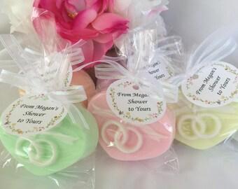 Soap Favors Wedding - Set of 10 - Wedding Rings Soap - Wedding Ring Soap Favor - Wedding Favors - Bridal Shower Favors - Soap Favors