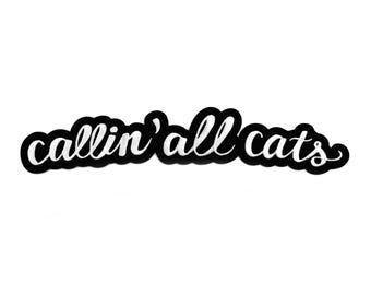 Top Rocker Patch // Callin' All Cats