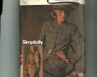 Simplicity Misses' Lined Suit Pattern6580