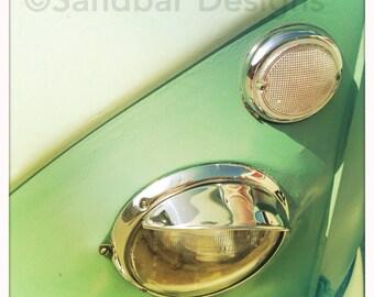 4 x 4 photo card-Sourball VW bus