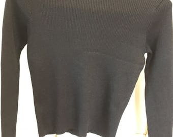 Black Emanuel Ungaro Sweater