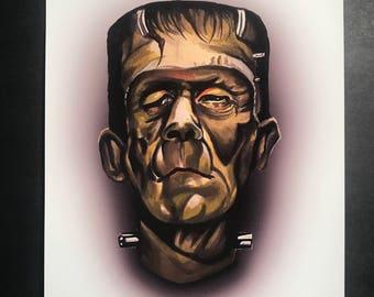 Frankenstein Print
