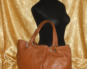 Genuine vintage bag - genuine leather