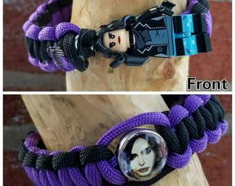 Jessica Jones brick figure bracelet