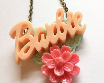 Barbie Love Necklace.