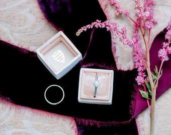 Silk velvet ribbon | hand dyed ribbon | velvet ribbon | bouquet ribbon | wedding ribbon | silk ribbon embroidery | raw silk ribbon | sari