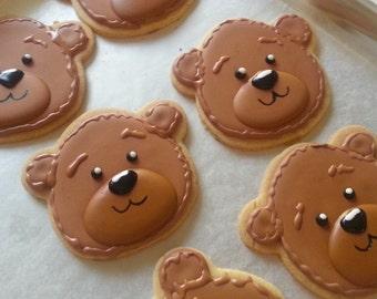 Bear Cookies - 1 Dozen