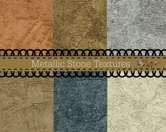 Metallic Stone Textures
