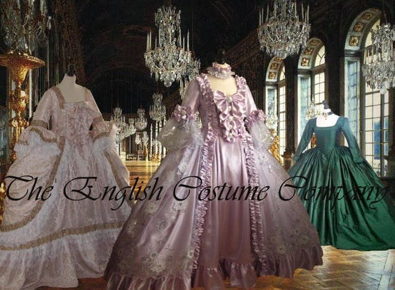 C / Marie Antoinette Kleid 18.Jahrhunderts Versailles Venedig
