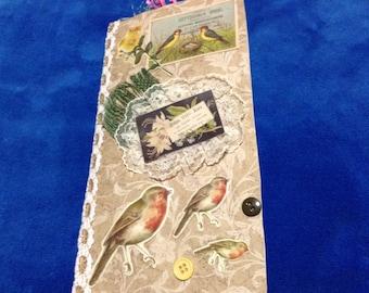 Victorian Bird Junk Journal