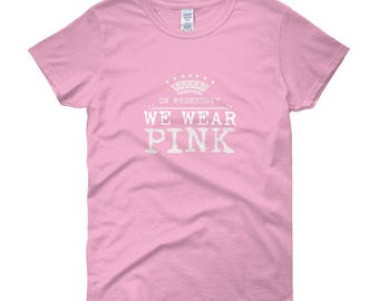 On Wednesday We Wear Pink T-shirt