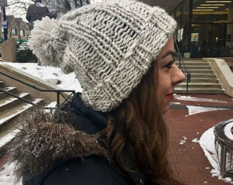 Slouchy Knit Hat