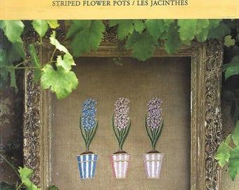 """Sheet embroidery cross stitch """"Hyacinth"""""""