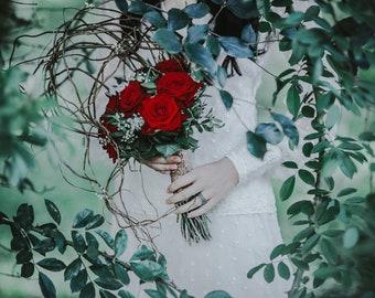 "Postcard fine art photography - ""Of Pearl & Vermeil"""
