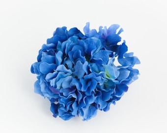 Marine blue hydrangea bushes navy blue hydrangeasilk hydrangeas silk flower hydrangeas 60 large hydrangea petals in royal blue artificial flower hydrangeas one hydrangea head item 01020 mightylinksfo Images