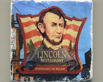 Lincoln Restaurant in North Center -  Original Coaster