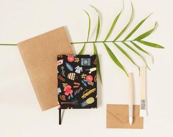 Bon Voyage - Handmade notebook