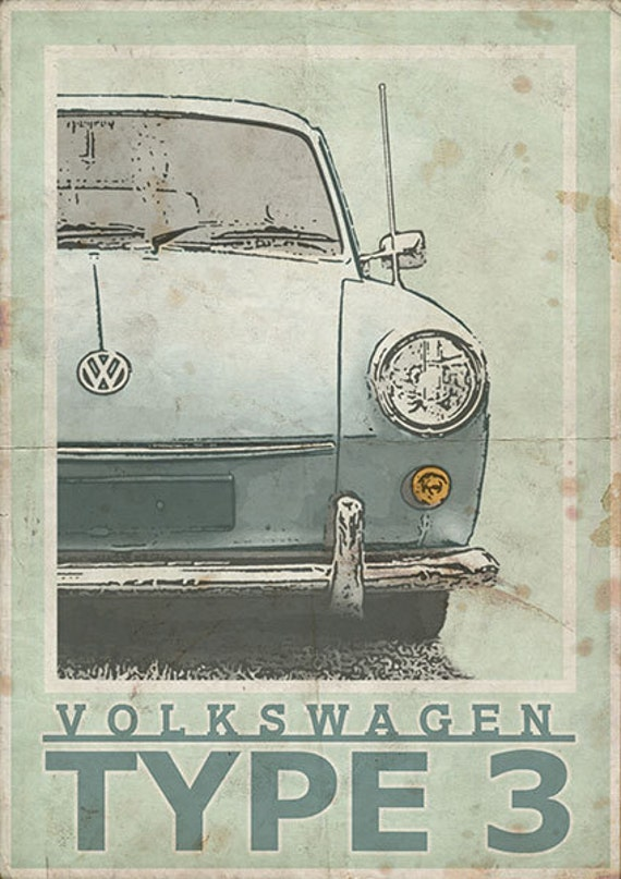 Volkswagen Type 3 Notch Fast Or Squareback Vintage Style