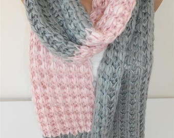 Outdoor Gift Knit Scarf Cozy Winter Scarf Knitted Scarf Clothing Travel Gift Holiday Christmas Gift For Her For Wife For Mom For Best Friend