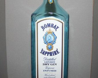 Bombay Sapphire 1.75L gin bottle - empty