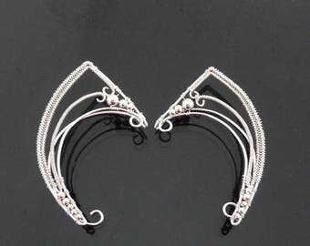 Elf Ears, Elf Ear Cuff, Fairy Ears, Wire Elf Ears, Ear Cuff Elf