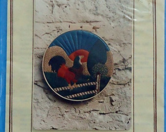 "Country Rooster 12"" Hoop Pattern"
