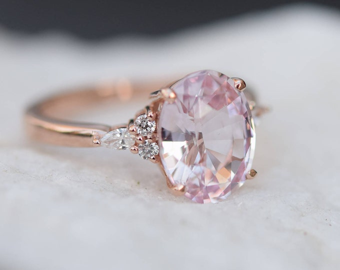 purplish shape natural pink rings shaped ring light engagement brownish ctw diamond pear
