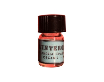 Wintergreen Essential Oil, Gaultheria fragrantissima, Organic, Nepal - 5/8 dram