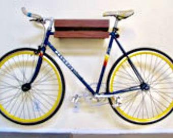Walnut Bike Shelf w/ Drawer