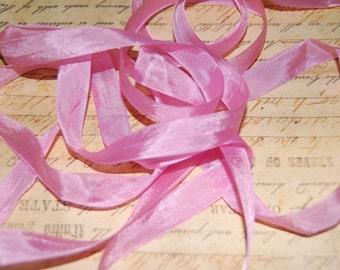 Princess Pink Vintage Seam Binding Ribbon