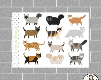 Cat Planner Stickers