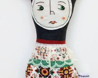 Handmade Art Doll - Della