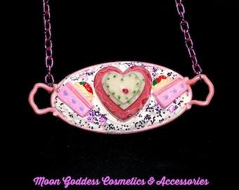 Decoden Barbie Tea Party Necklace