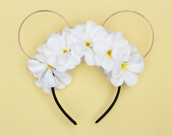Island Sun Floral Wire Mouse Ears