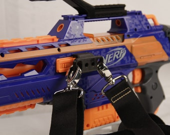 3D Printed – Nerf Dual Sling/Harness Attachment Point for Nerf Gun