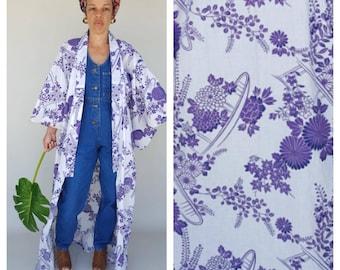 Vintage Kimono / Duster Coat / Kimono Cardigan