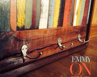 coatrack wooden rustic