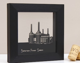 Battersea Power Station Mini Wall Art