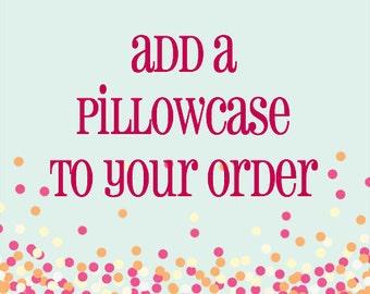 pillowcase, kids, personalized pillowcase