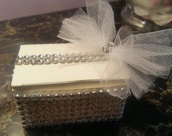 Wow Factor Embellished Favor Boxes set of 50