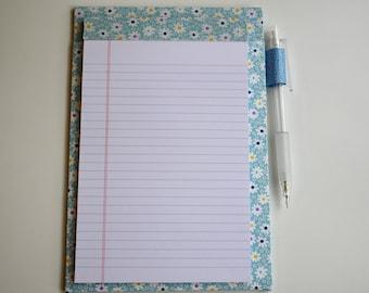 Handmade magnetic notepad holder #2