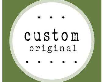 Custom Original Painting Artwork