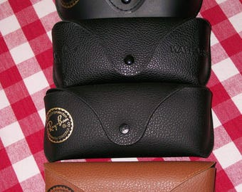 Lot of four vintage Ray Ban sunglasses cases