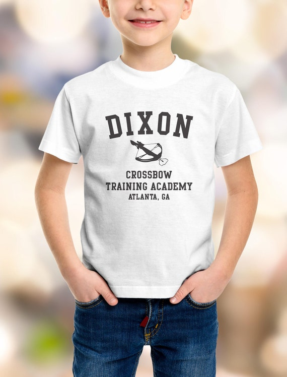 "The Walking Dead ""Dixon Crossbow Training Academy""  Kids Shirt 2T-XL Available TWD"