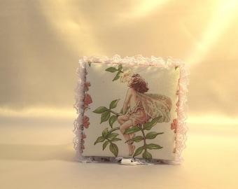 Jasmine Vine Flower Fairy square keepsake box